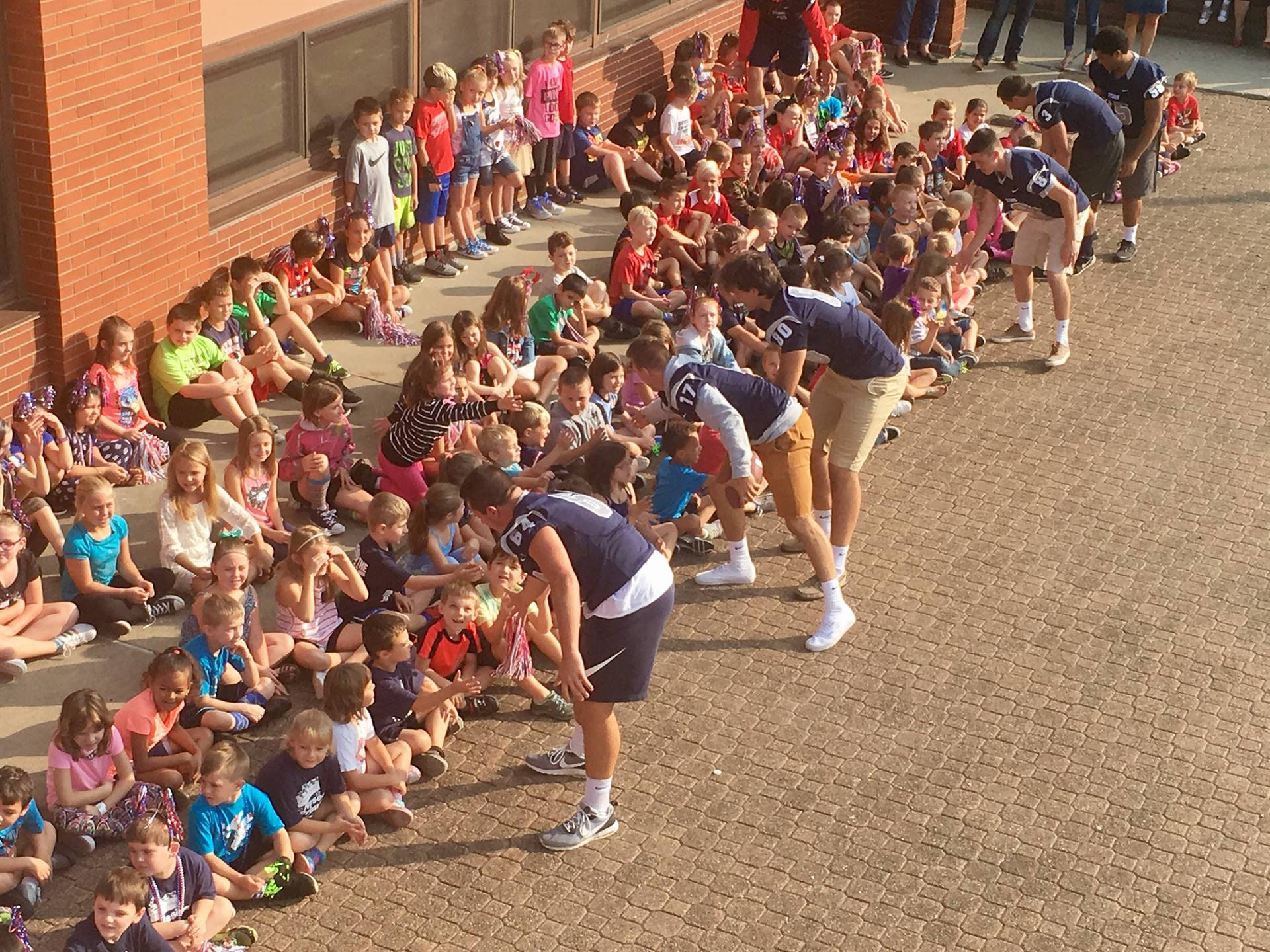 Pep Rally at Reserve