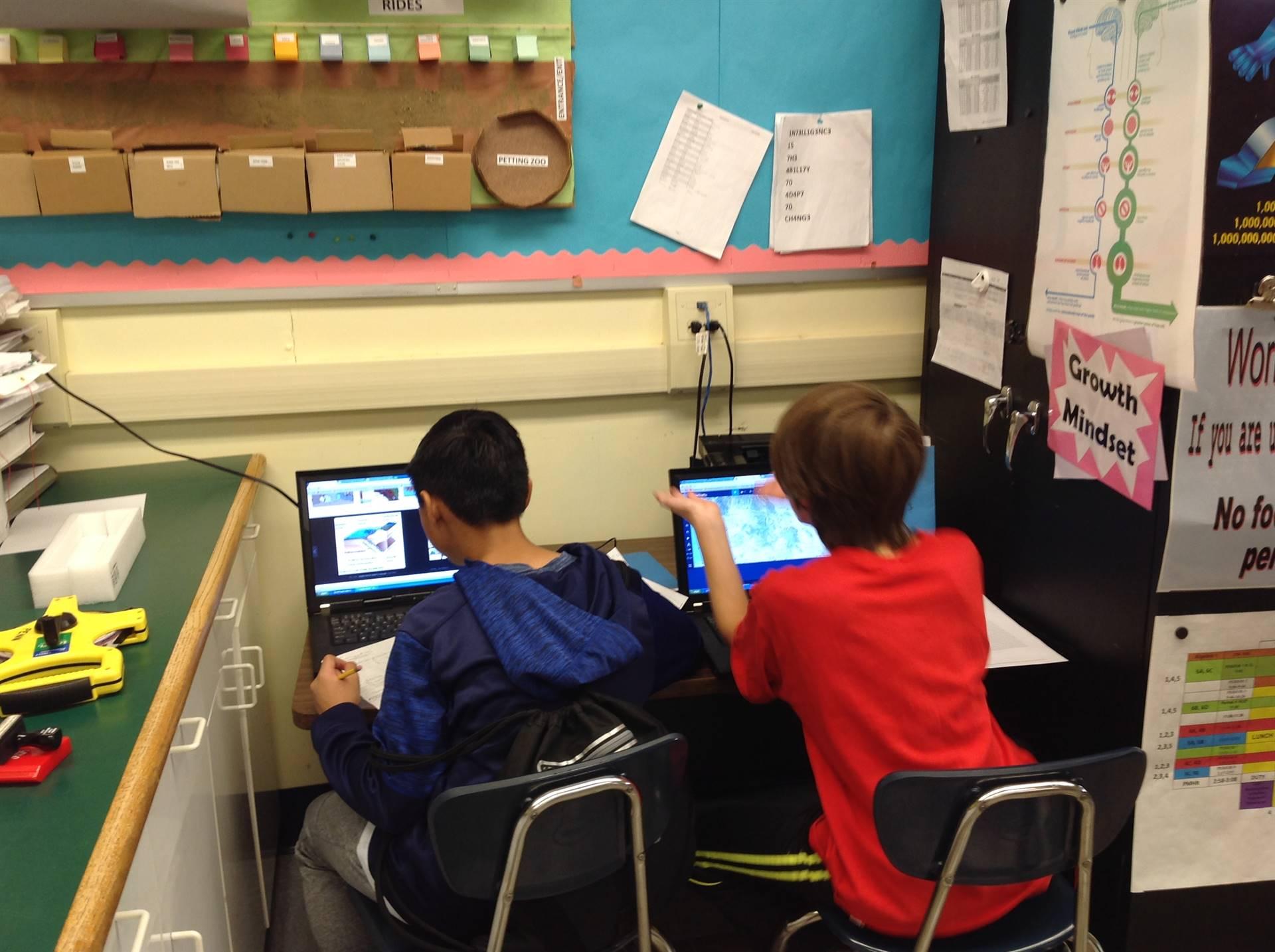 Working on Google Classroom