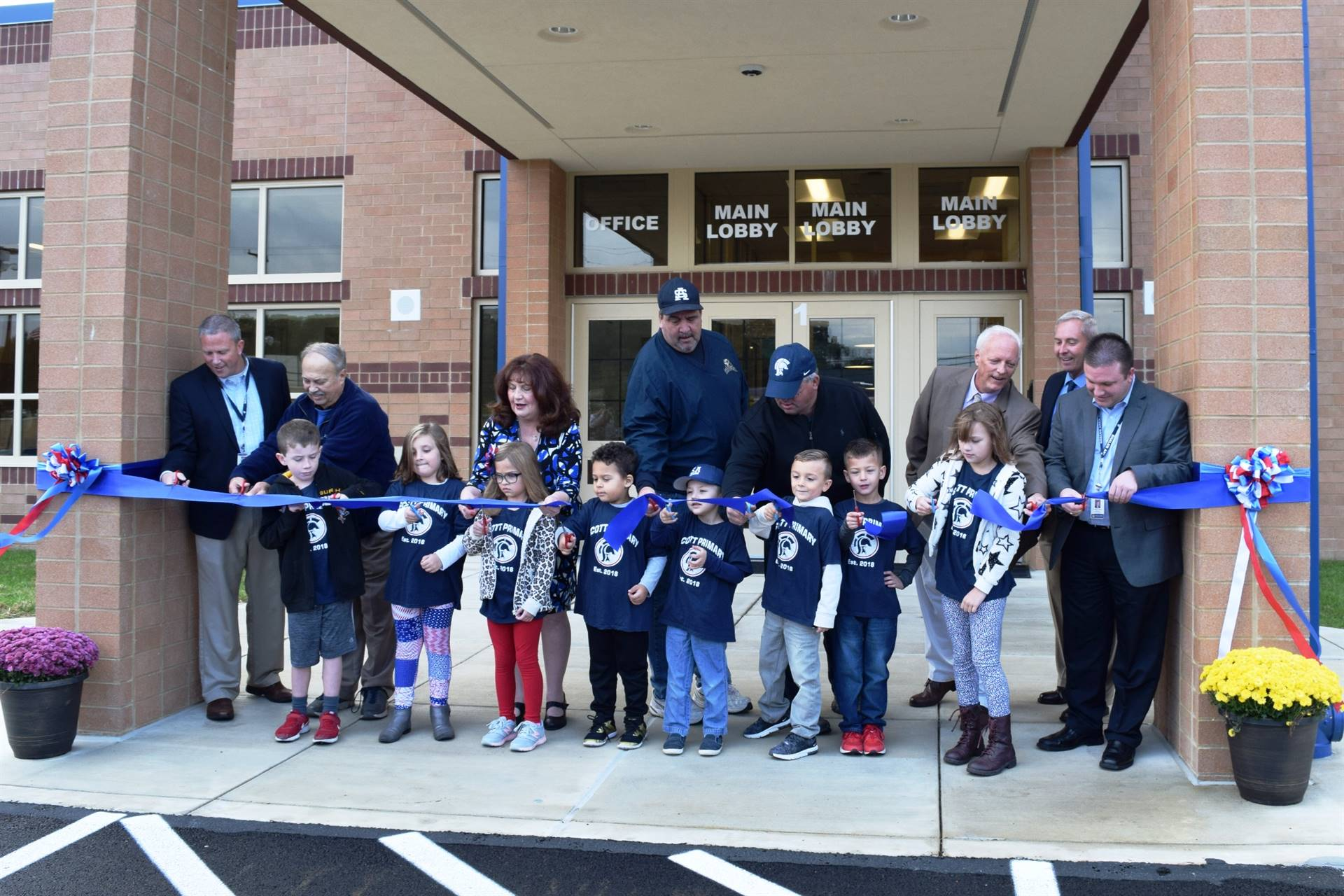 Scott Primary School Ribbon-Cutting Ceremony