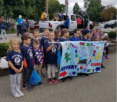 Scott Primary School Homecoming Banner