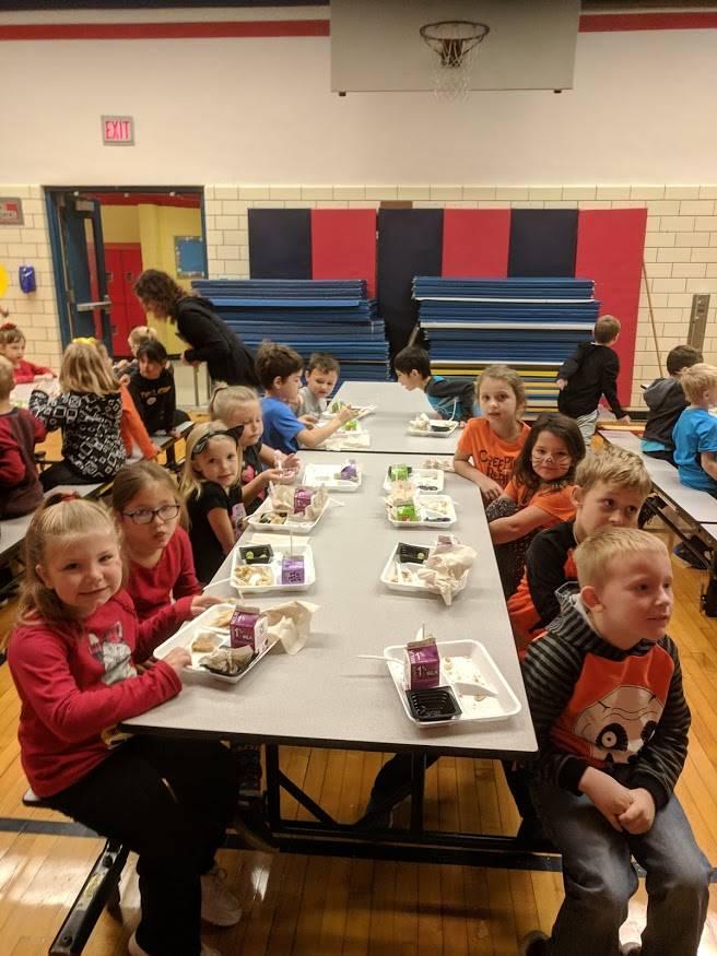 1st Grade Boo-berry Breakfast