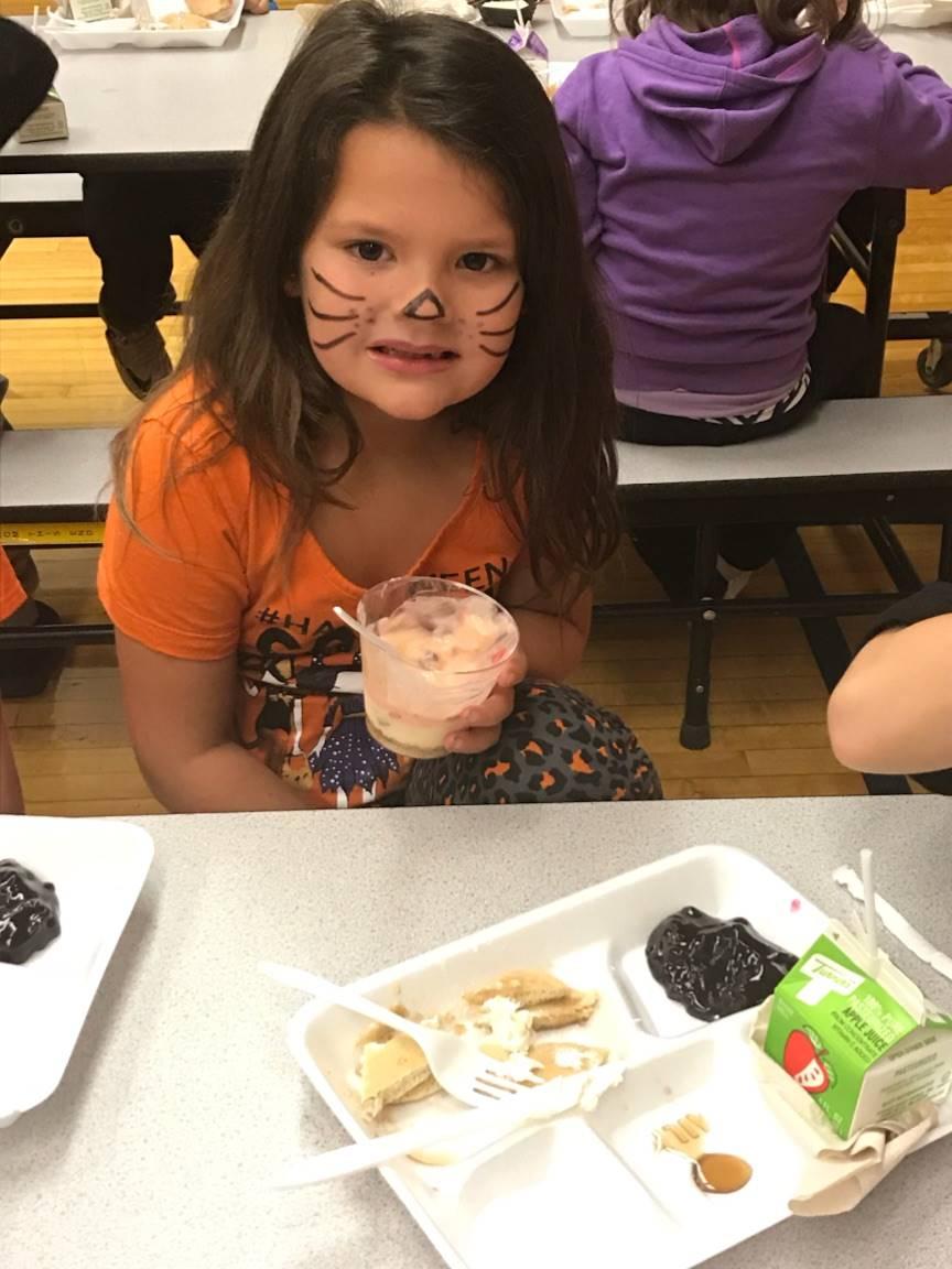 First grade breakfast