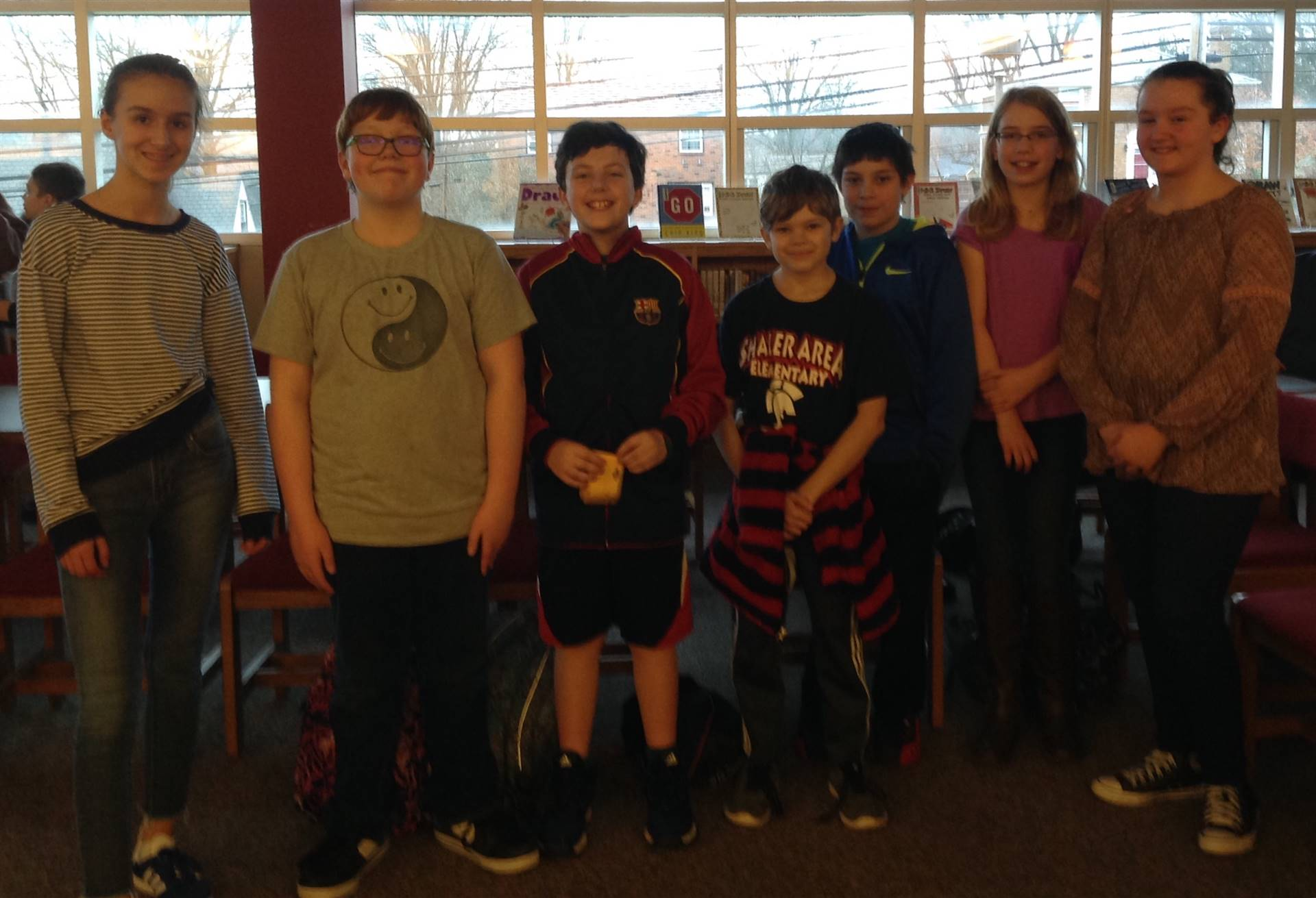 7 Students from SAES Who Participated in the Spelling Bee