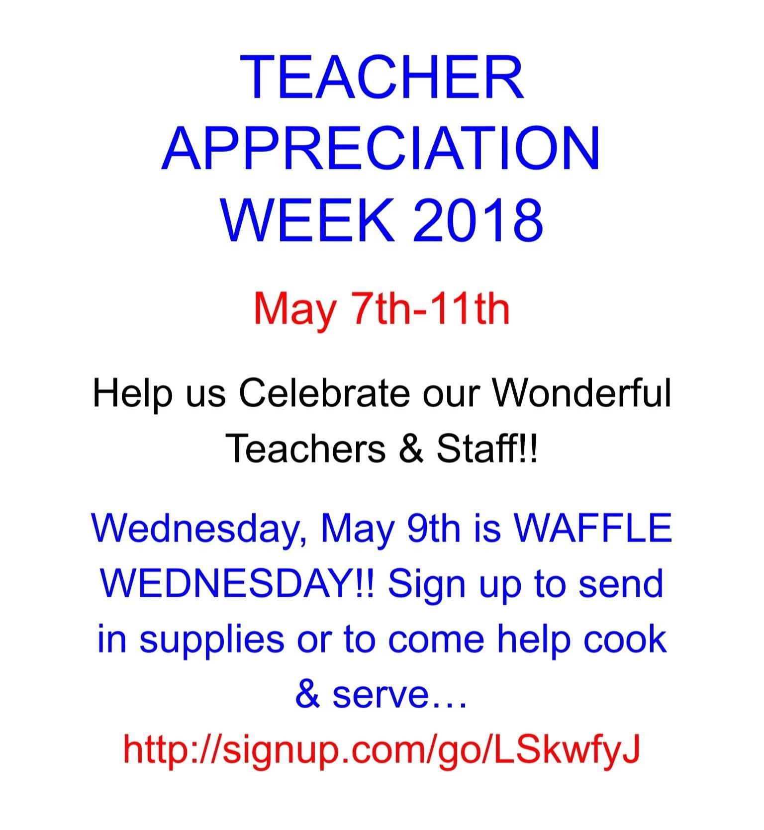 Waffle Wednesday Help Needed!