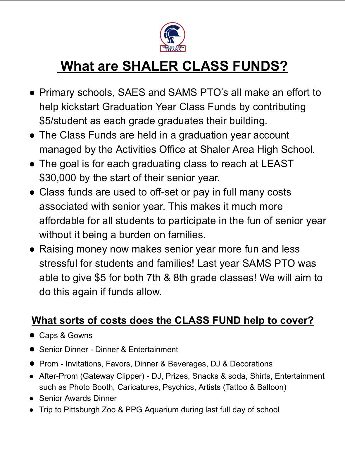 Class Funds