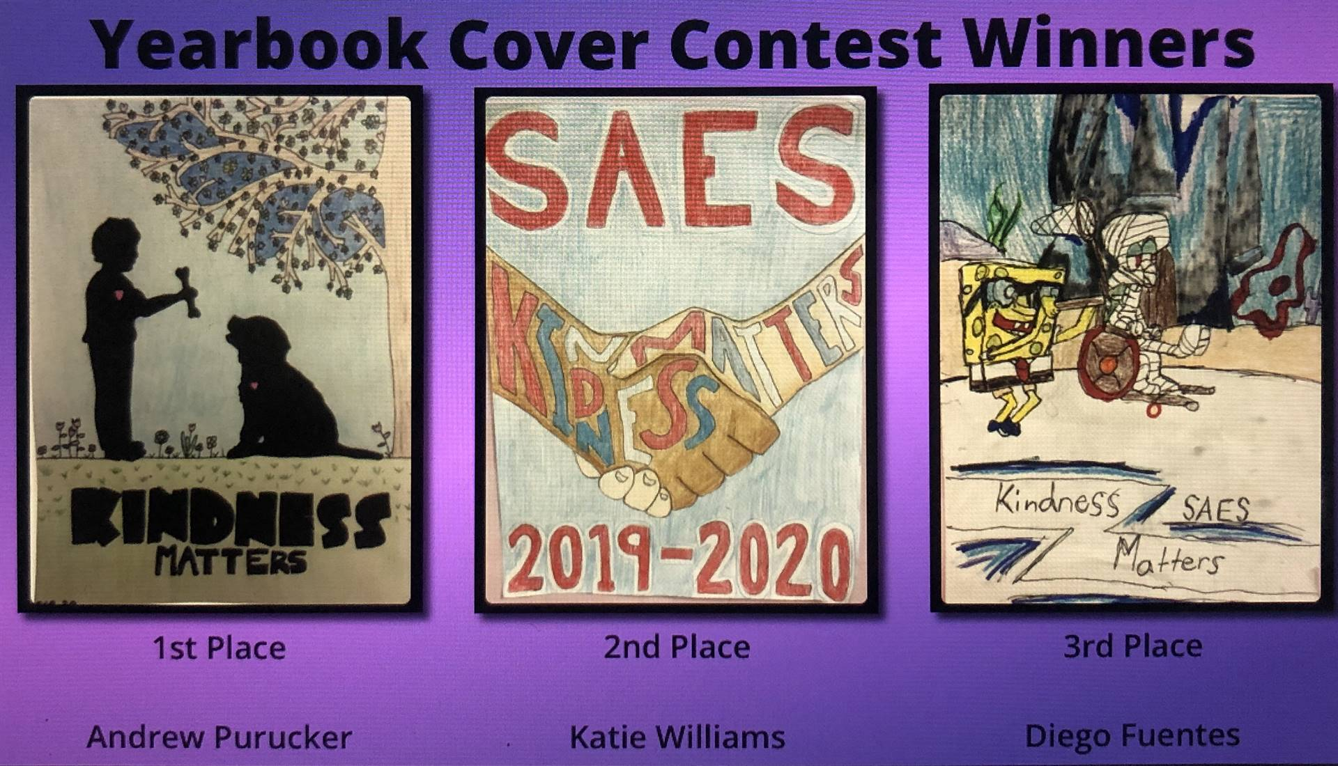 Yearbook Cover Contest Winners