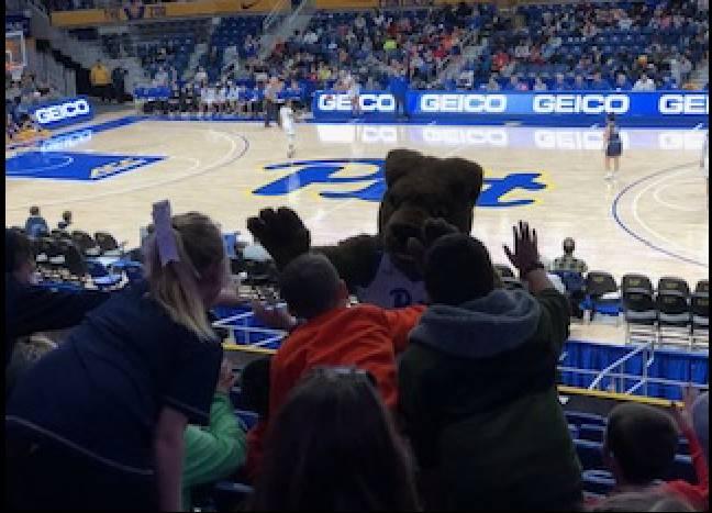 Pitt mascot