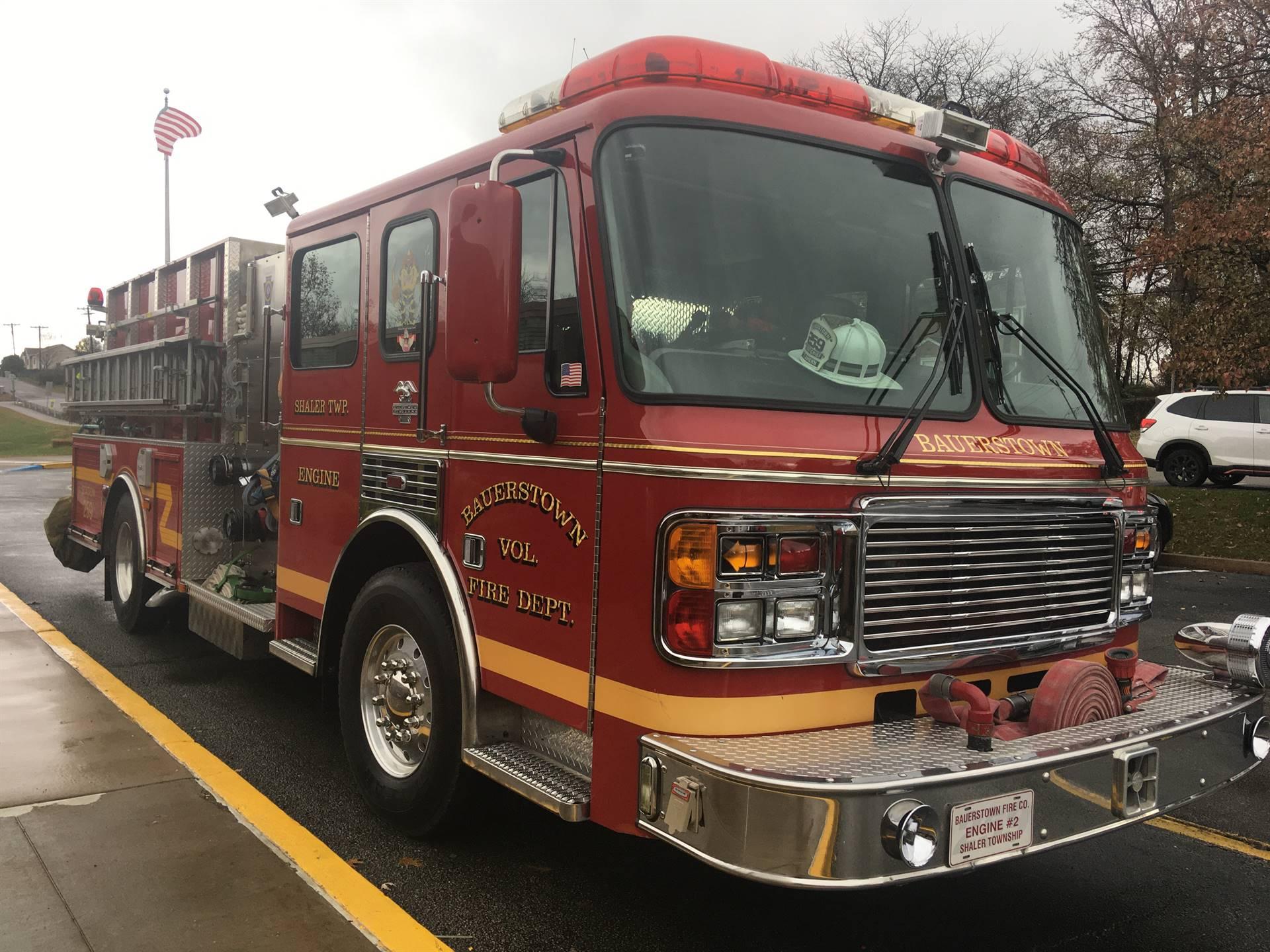 Bauerstown Firetruck