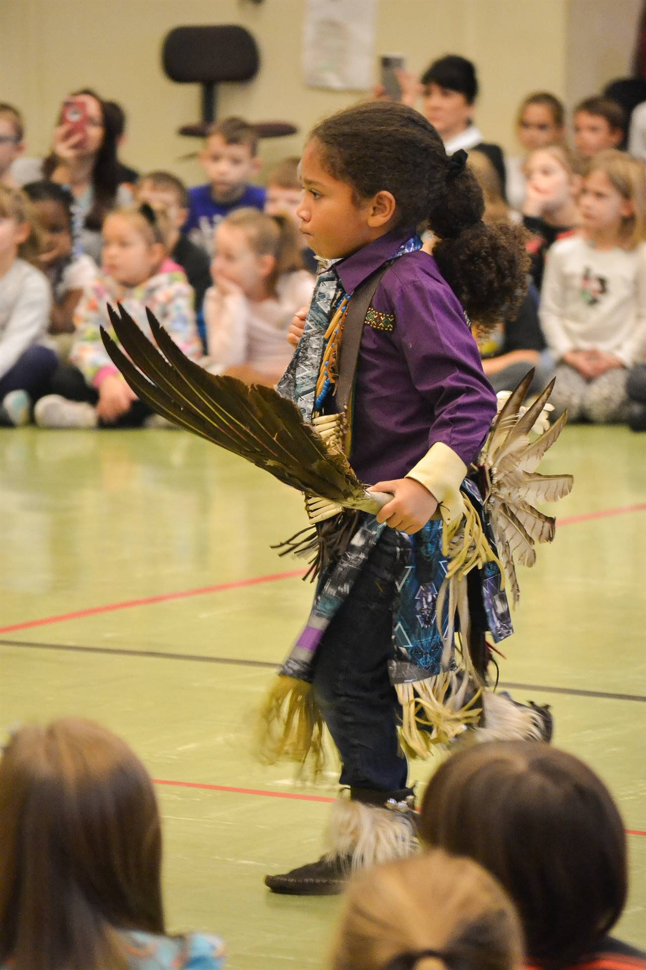 Native American dancing
