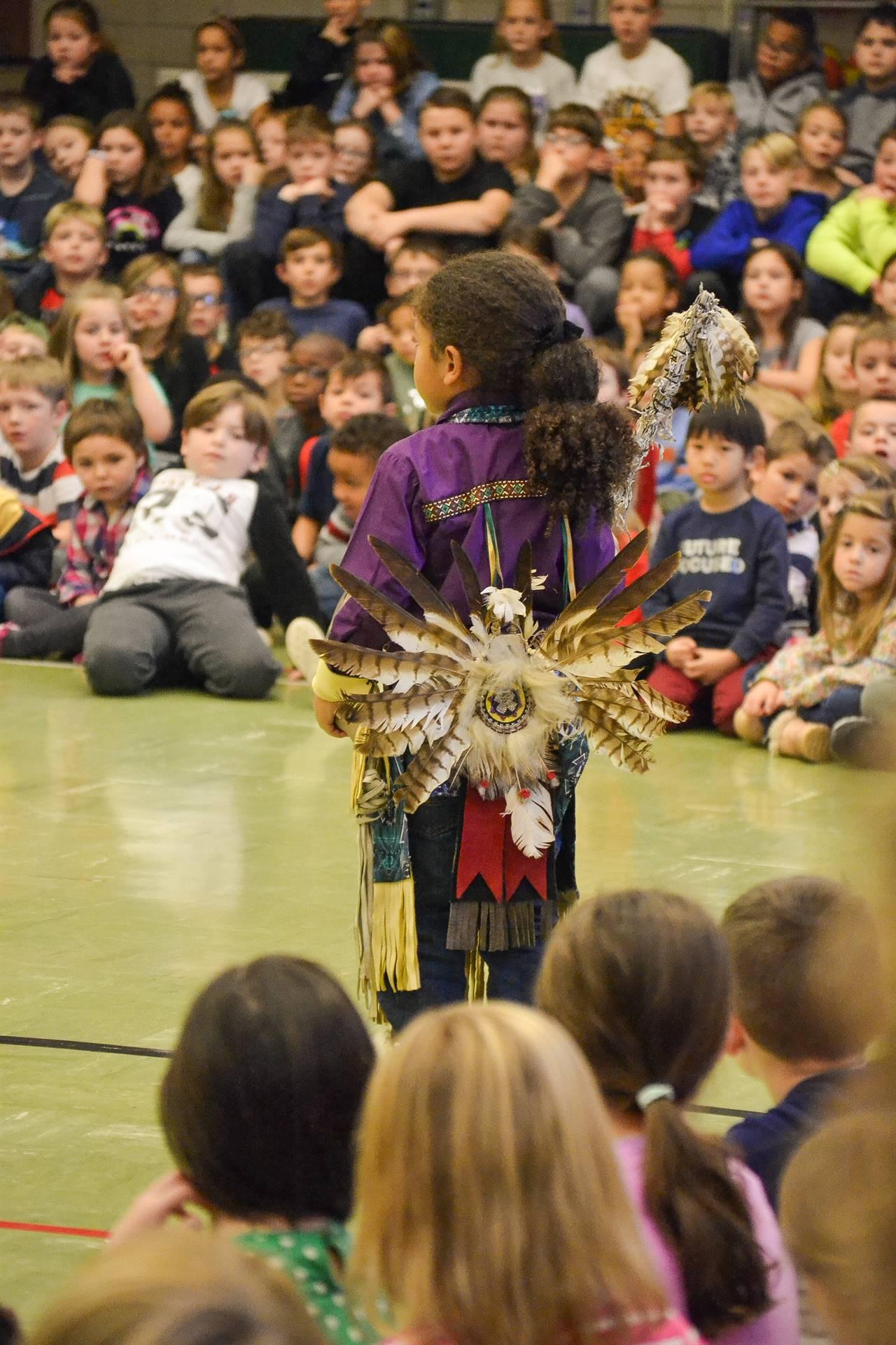 Native American dancing