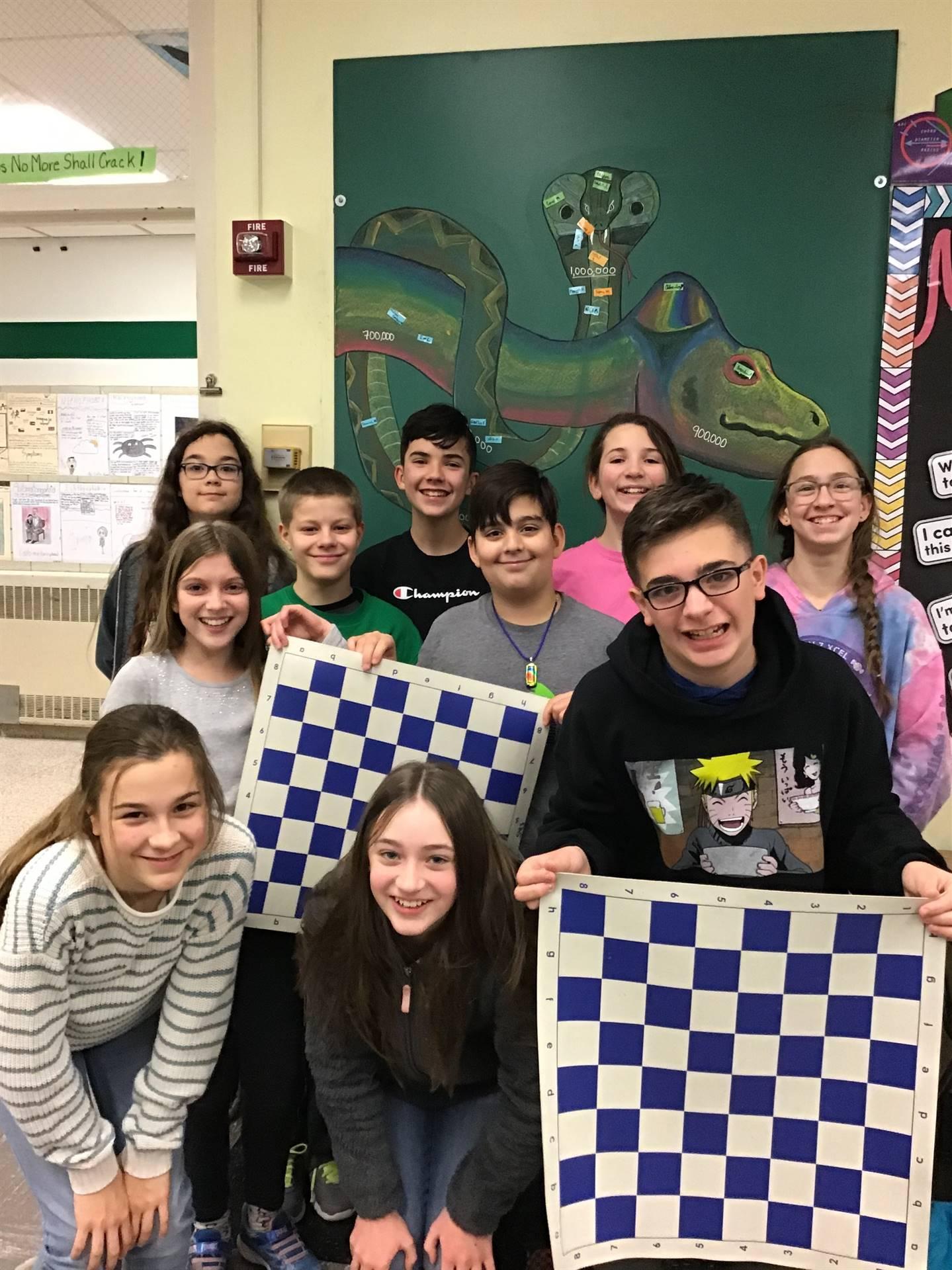 6th Grade GATE Chess Team