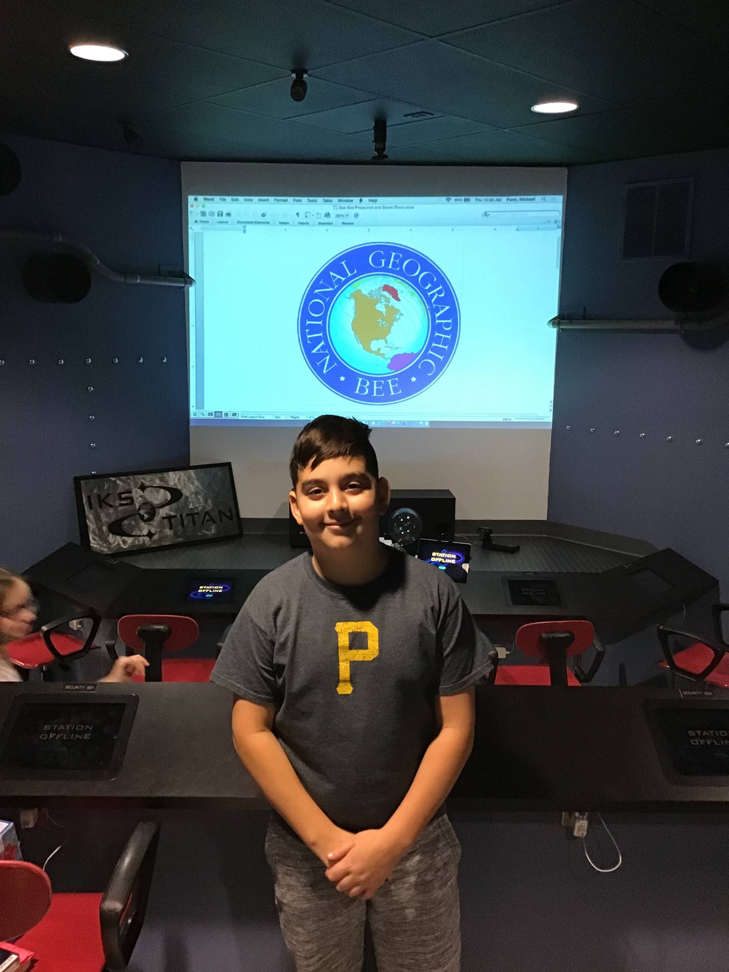 2nd Place in Geo Bee