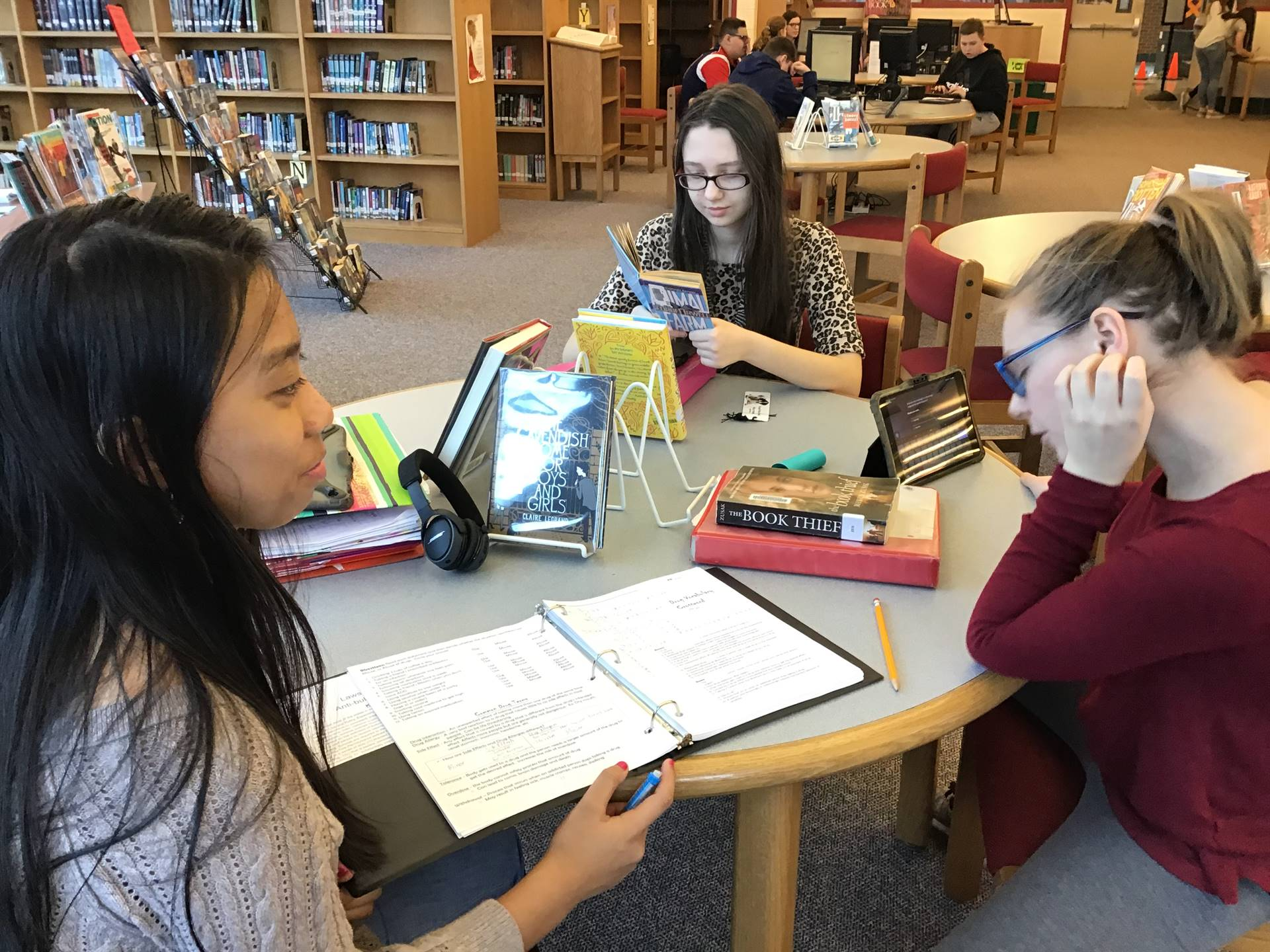 Shaler Area Middle School Library