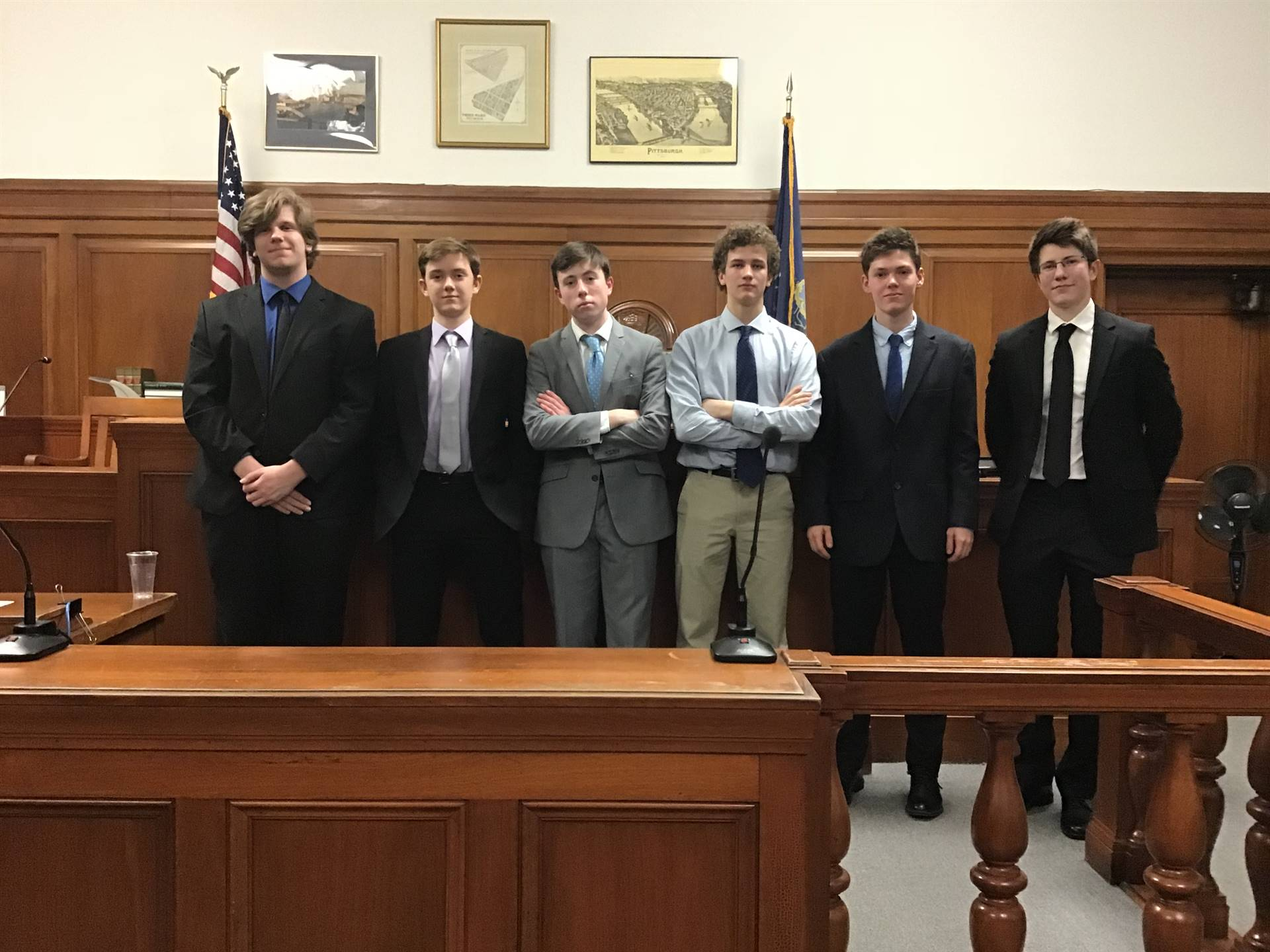 Statewide mock trial defense team