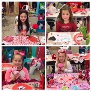 Mrs.Zillweger's-2B-class-surprised-for-Valentine's-Day