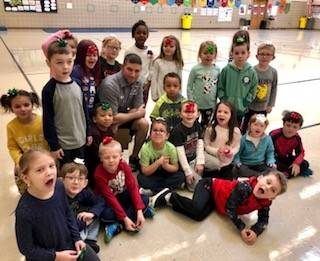 Mrs. Bork's-KB-class-became-Mr.Bough's-present