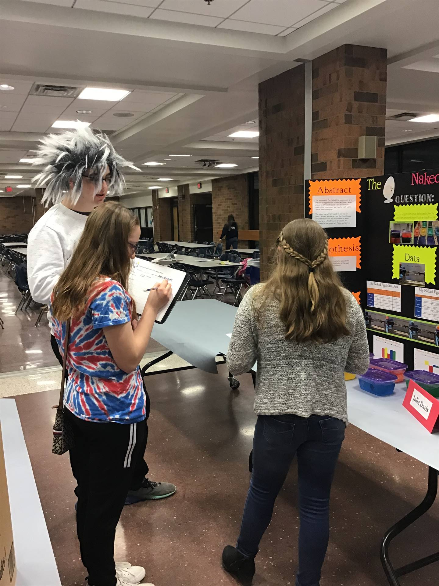 SAES/SAHS Gate science fair