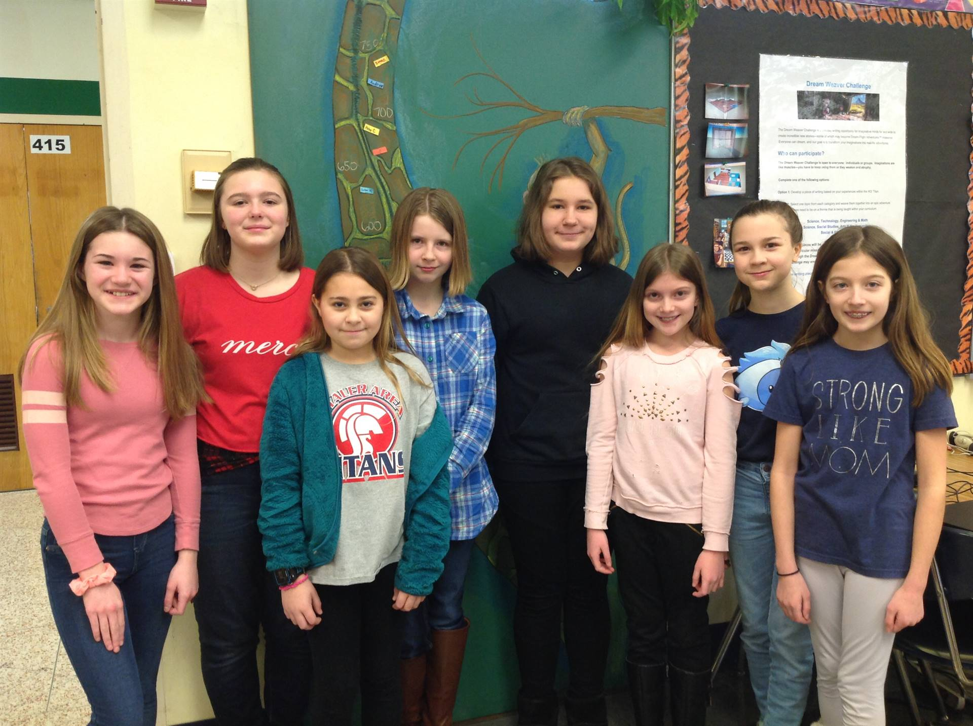 7 Girls Who Participated in Elementary String Fest