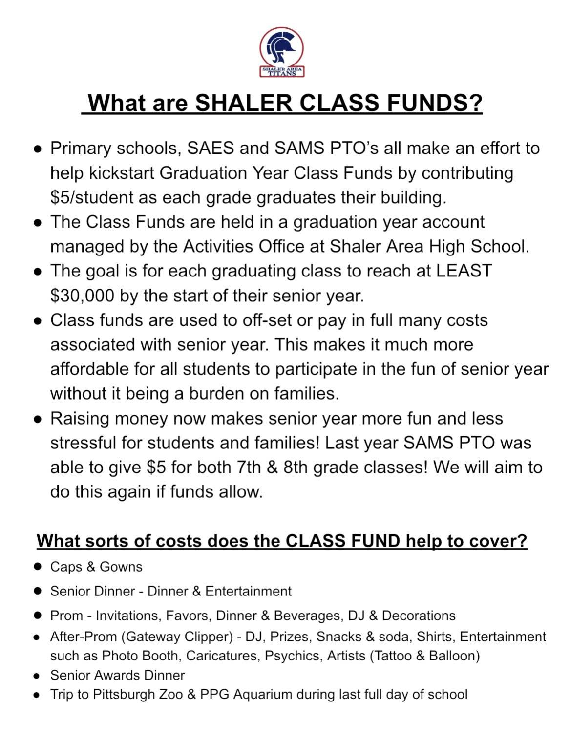 Class Funds