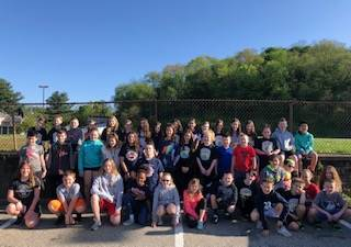 Large Group of SAES Kids of Steel Participants