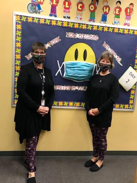 Burchfield Office staff celebrating Halloween