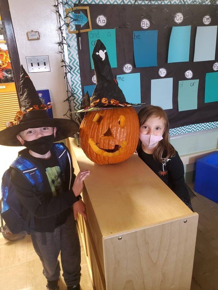 The great pumpkin has arrived to 1E