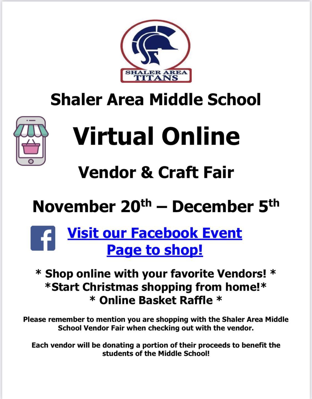 Virtual Vendor Fair