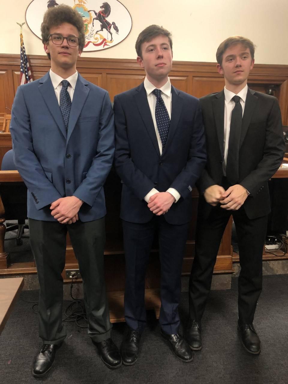 Mock Trial Seniors
