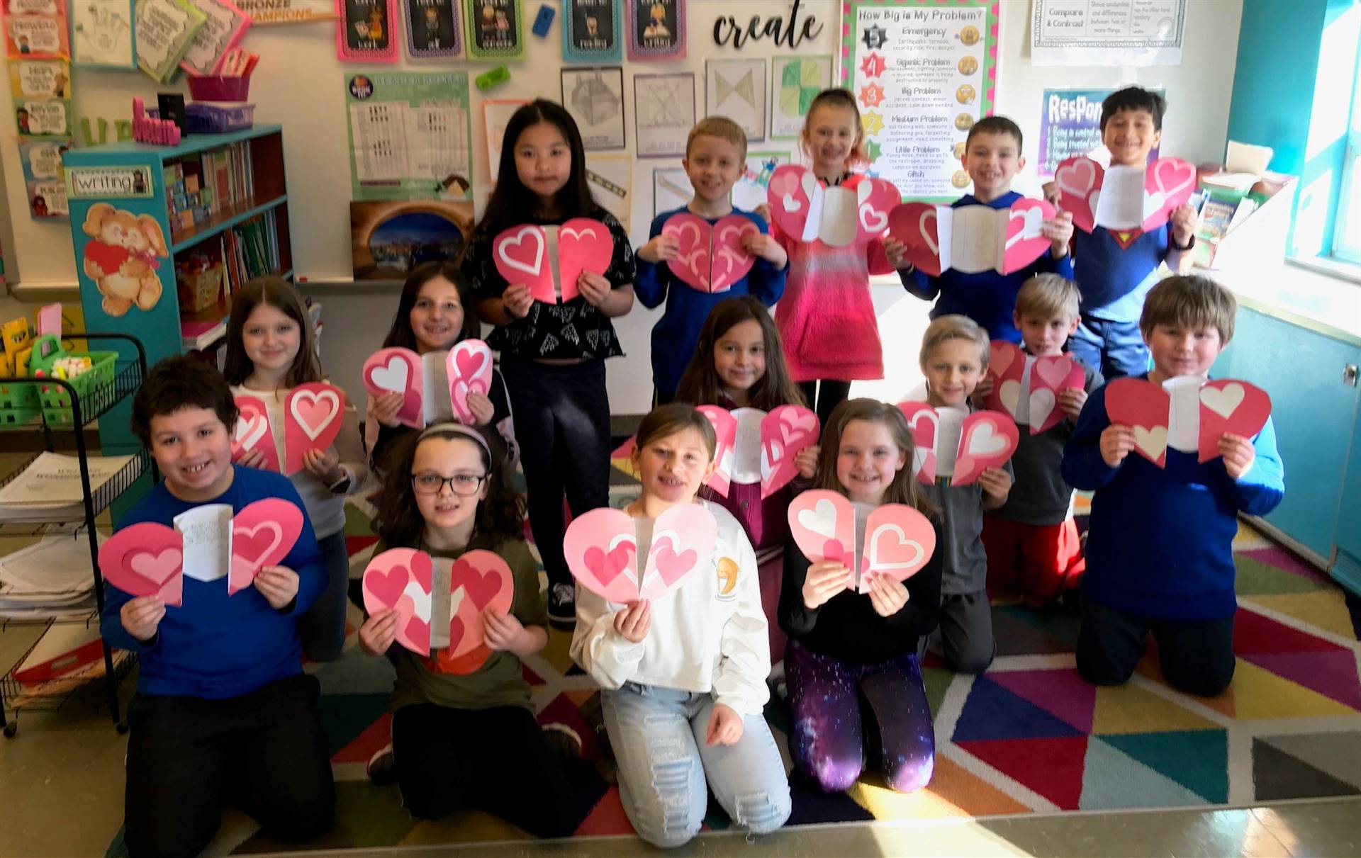 Mrs.-Schnur-s-3C-class-made-Thank-you-notes-for-Animal-Friends