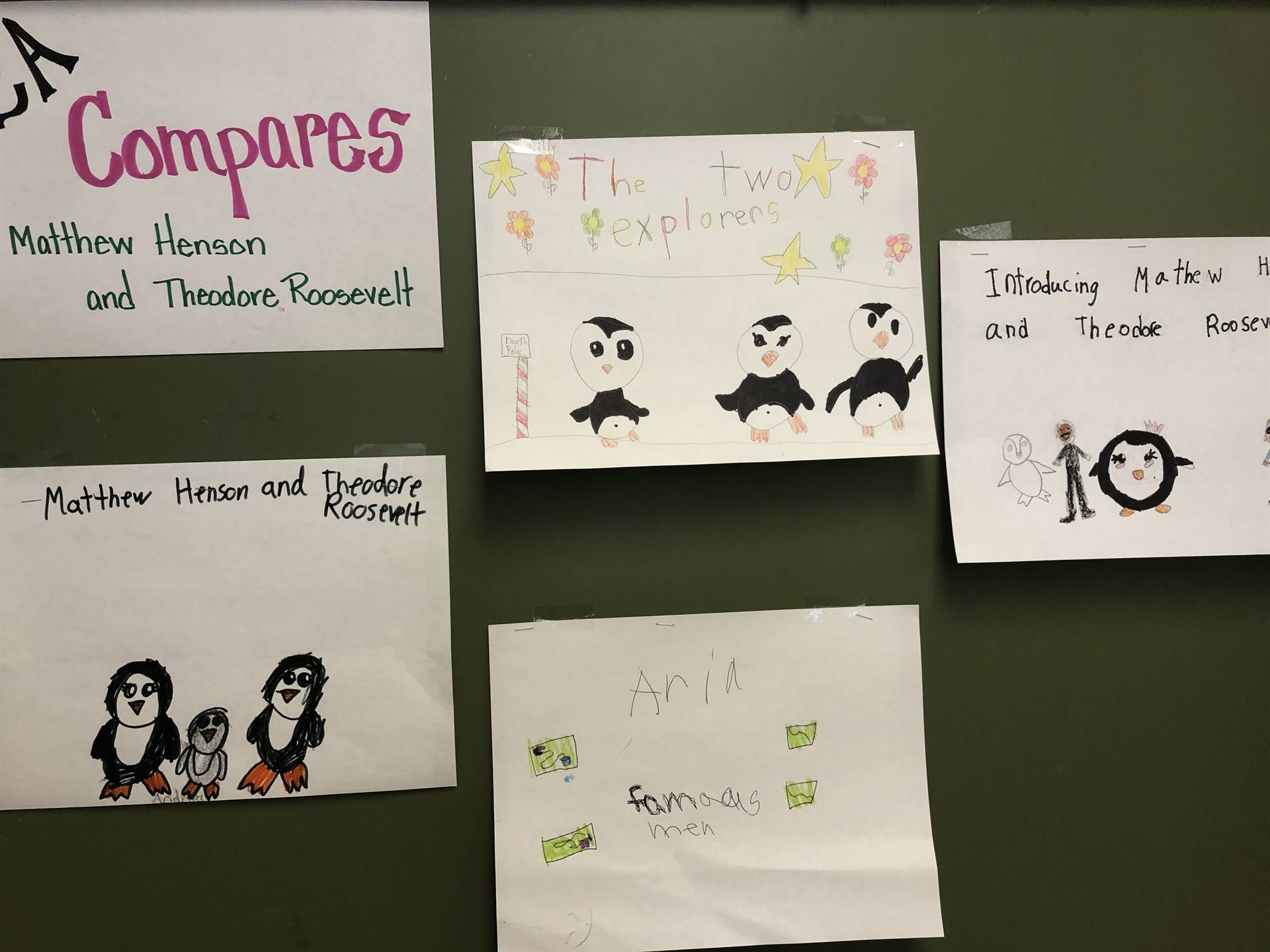 2nd graders learn about black history month