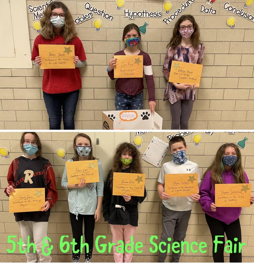 5th & 6th Grade Science Fair