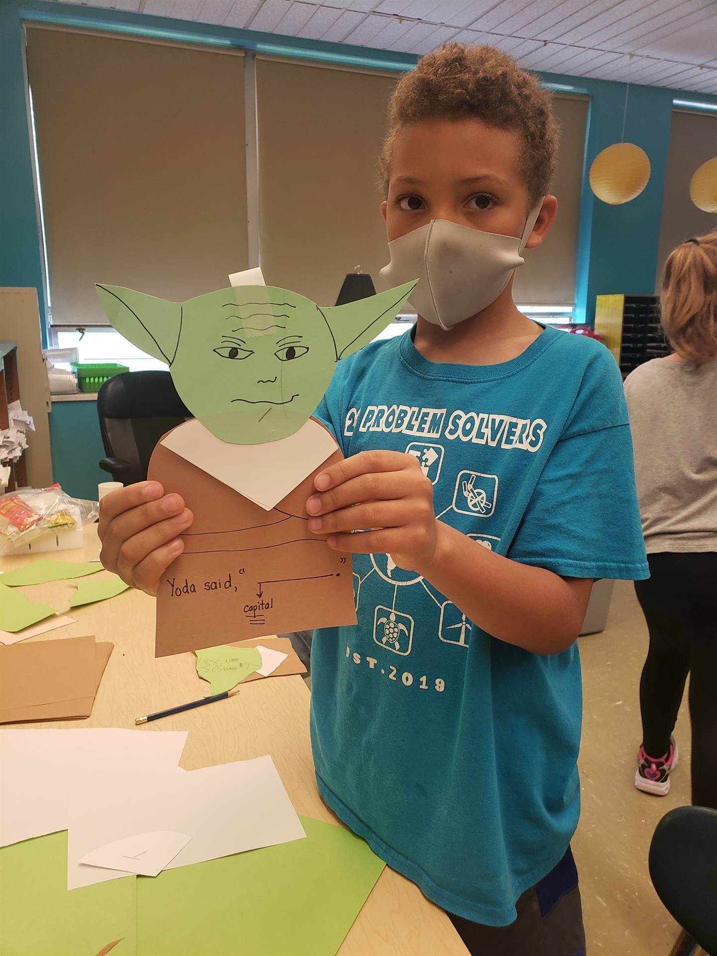 """""""May the 4th be with you"""" and Miss Dugan's 3B class"""