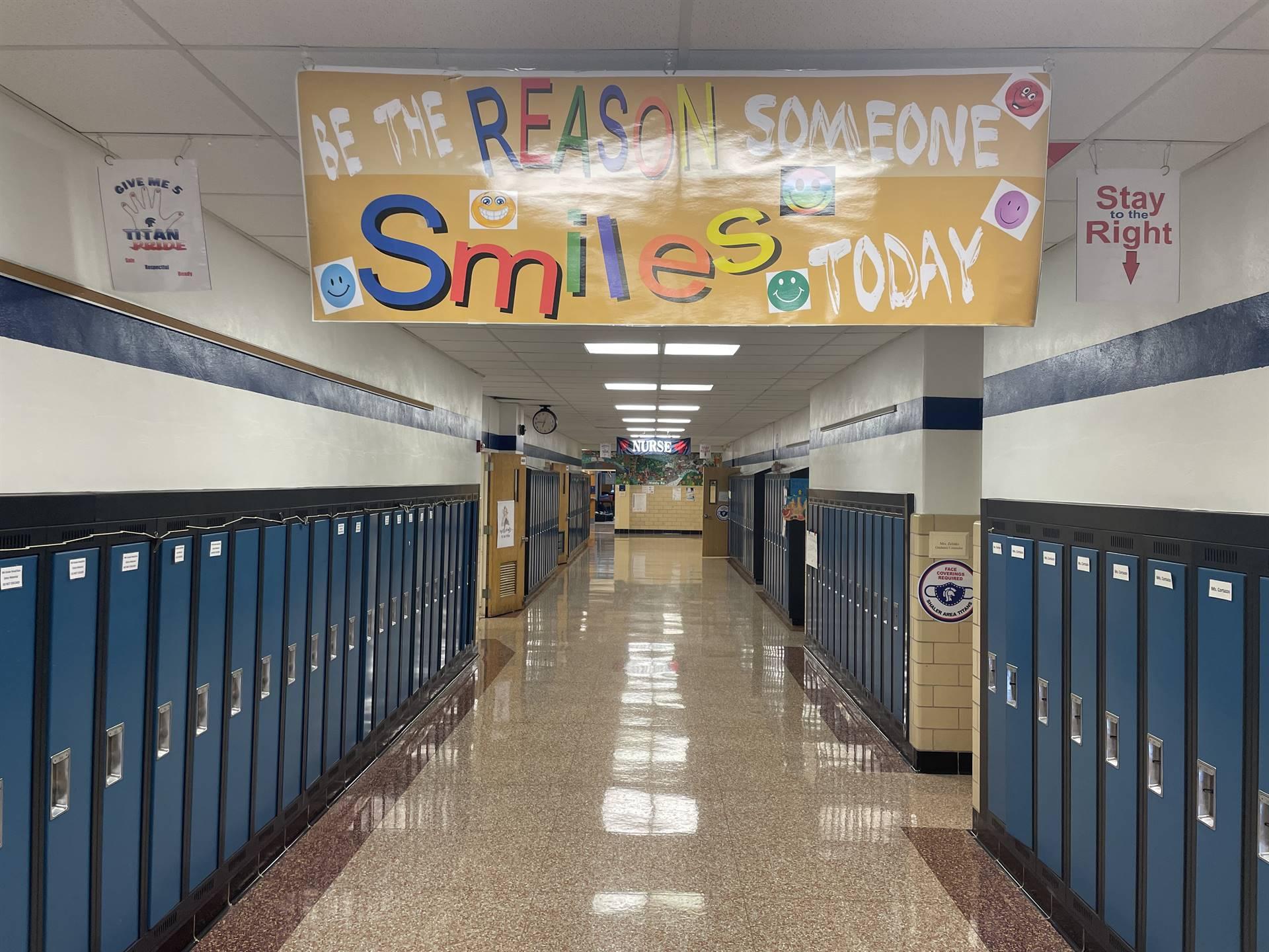 Hallway at SAES